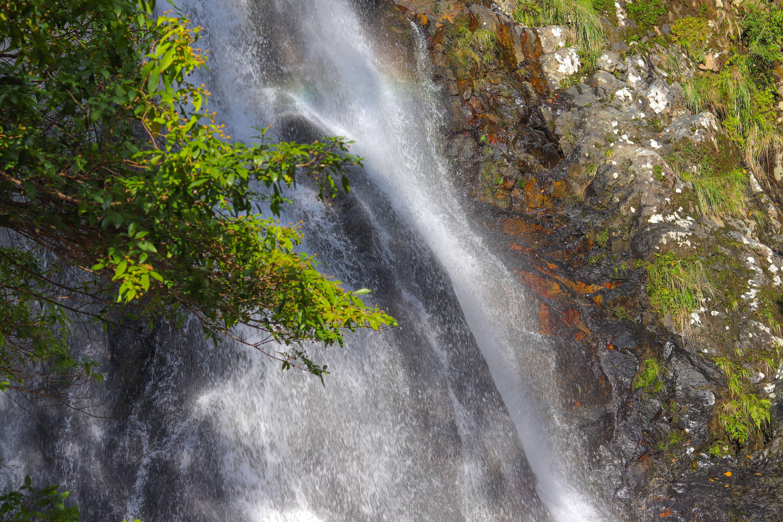 実はその名の通り八つの滝があり、この滝は八つめである