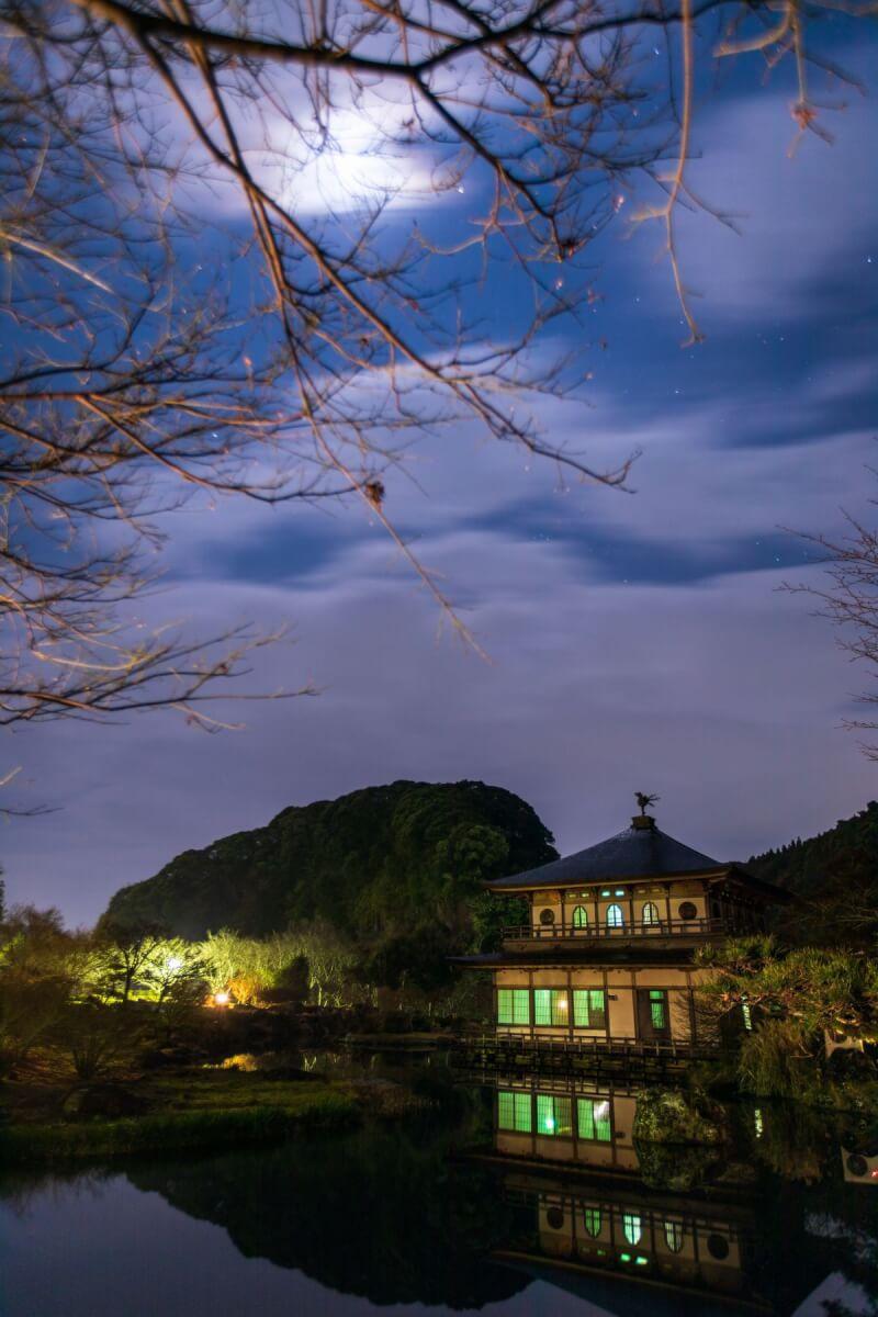 岩屋公園の夜景